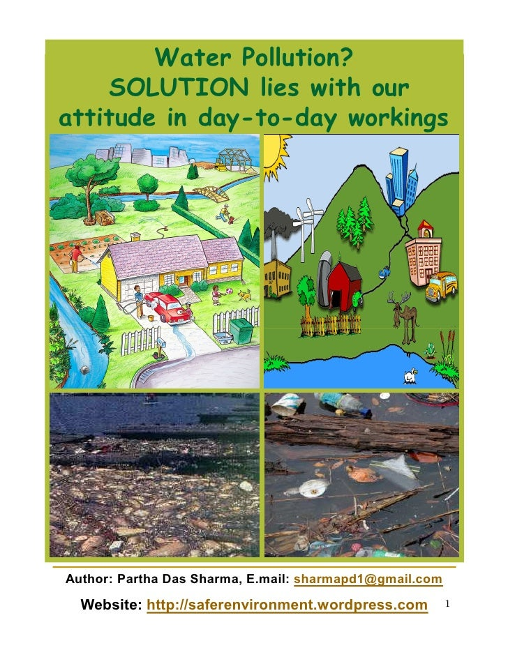 solutions to water pollution Our water systems are innocent victims of excessive dumping with harmful substances it's imperative we adapt water pollution solutions, since all living things rely.