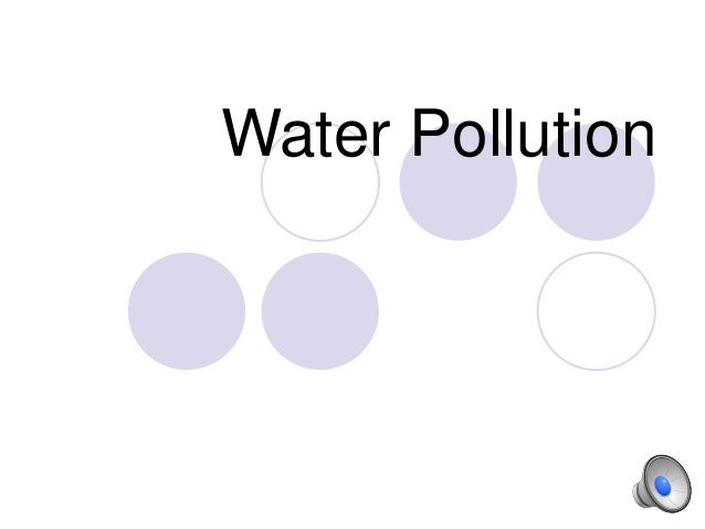 HPU NCS2200 Water pollution part 1