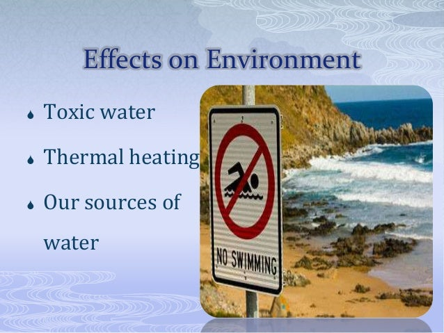 The Importance of the Issue of Thermal Pollution