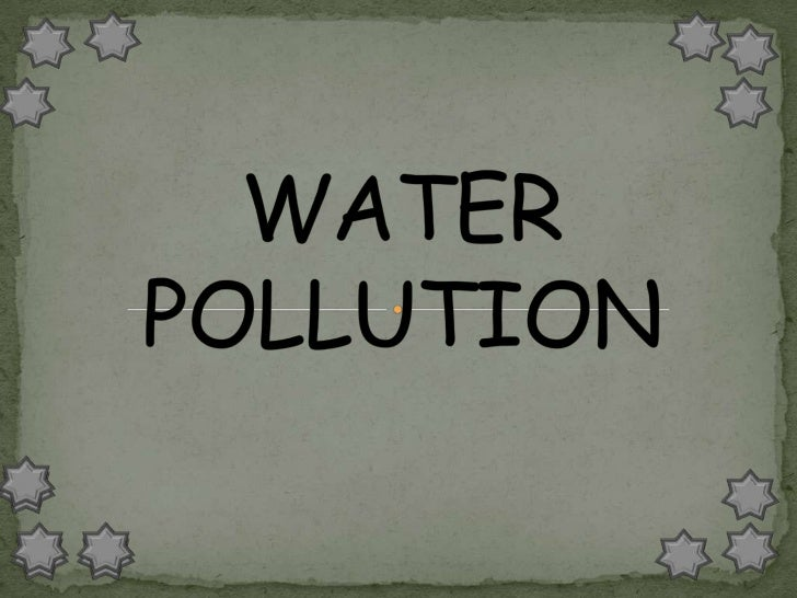Water covers over 70% of the Earth'ssurface and is a very important resource    for people and the environment.  Water p...