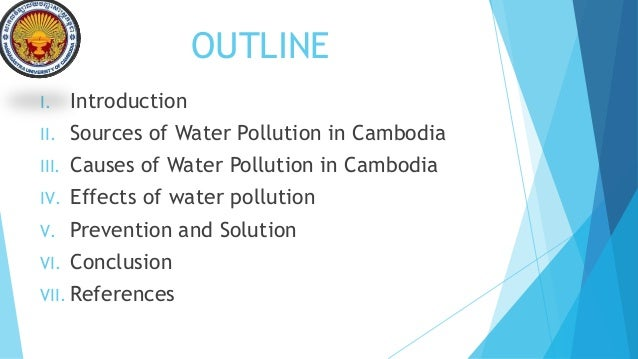 cause and effect of water pollution essay Cause and effect paper, environment - causes and effects of water pollution.
