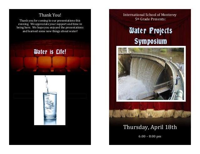 Water project program
