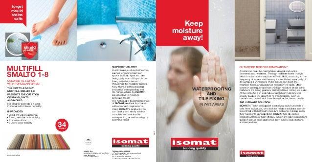 ISOMAT_Waterproofing & Tile Fixing