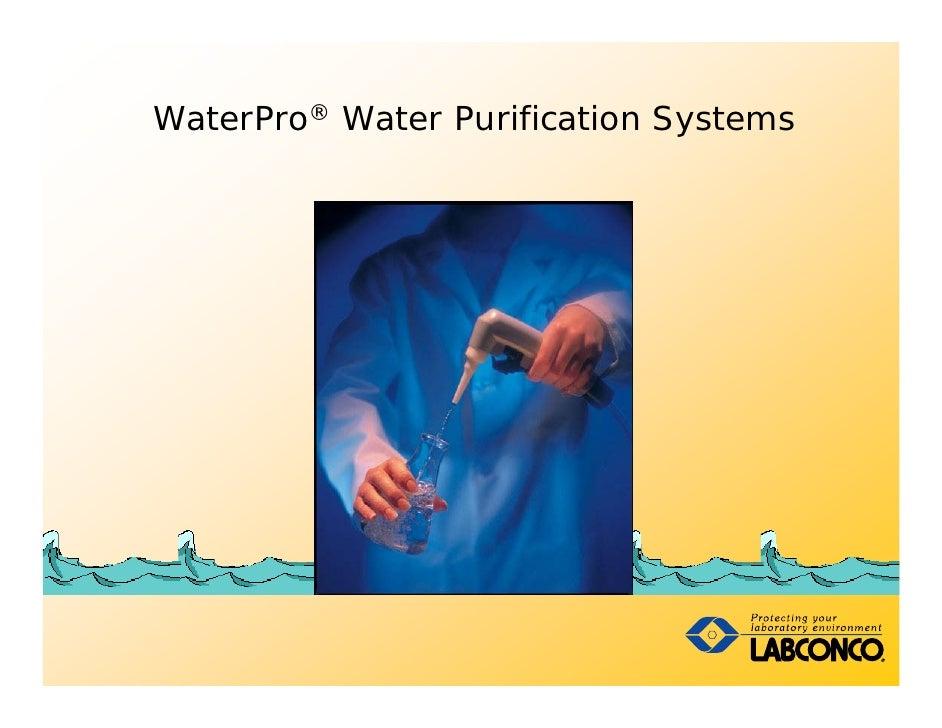 WaterPro® Water Purification Systems