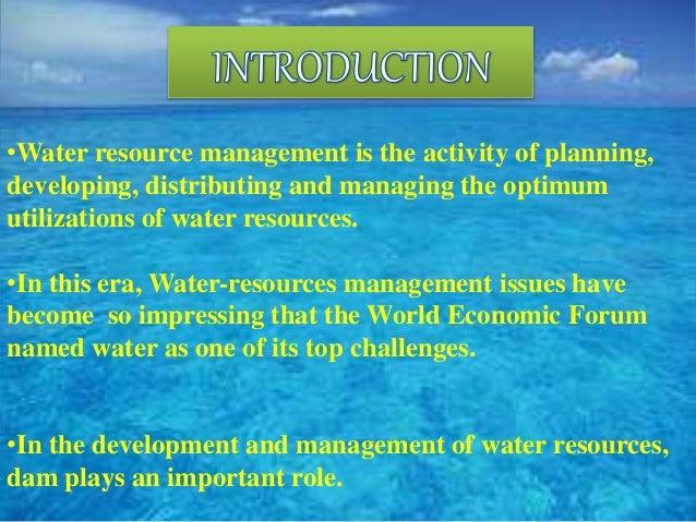 water resource managment