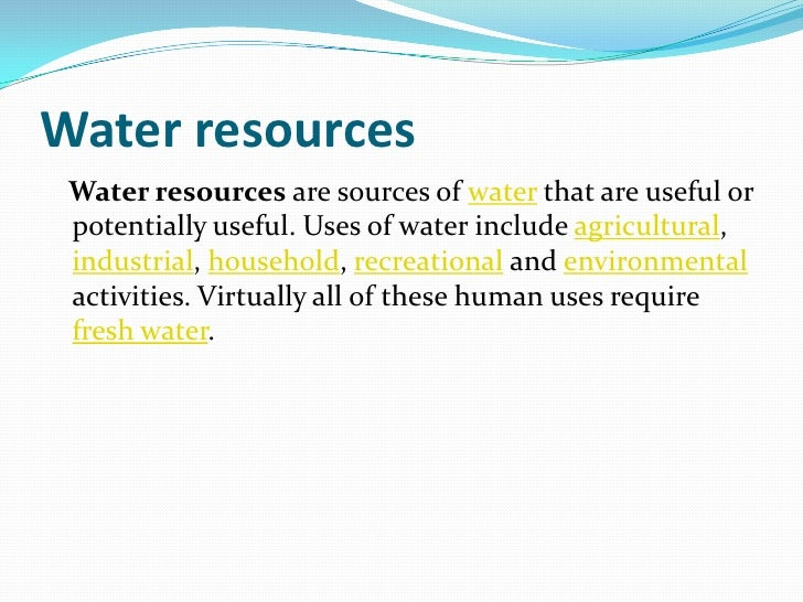 Over Use Of Natural Resources Powerpoint