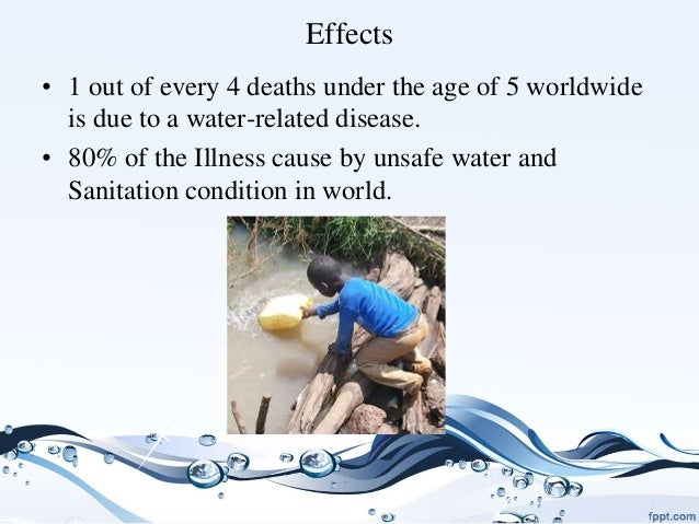Scarcity Of Water Essay