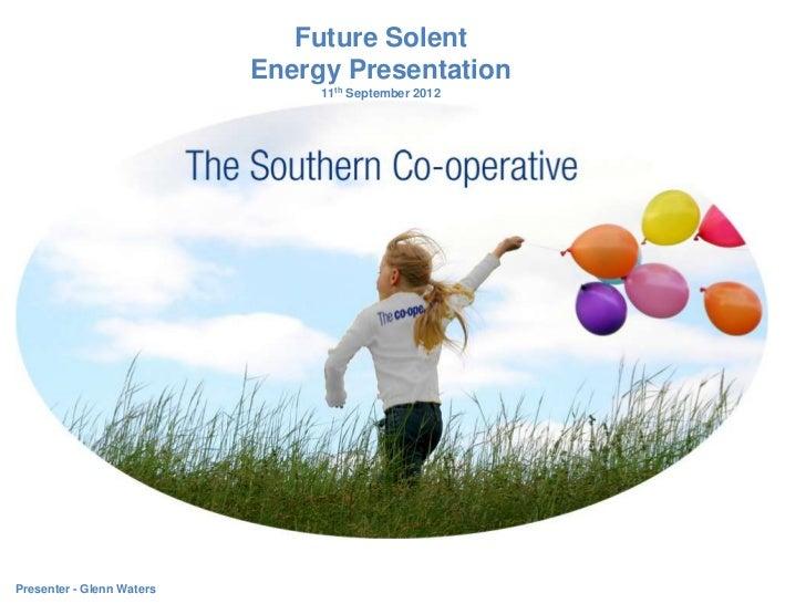 Future Solent Energy Presentation