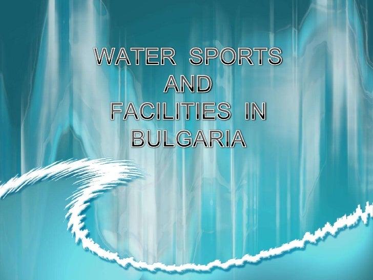 Water sports in Bulgaria