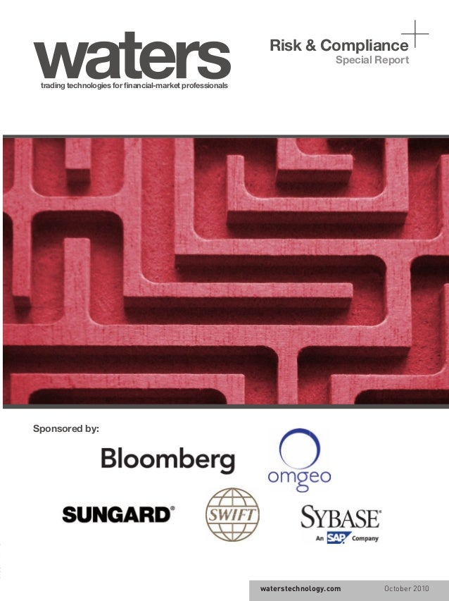 waterstechnology.com October 2010 trading technologies for financial-market professionals Special Report waterstechnology.c...