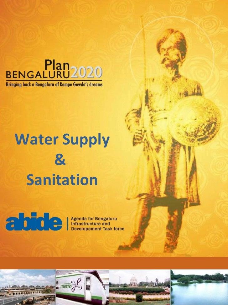 Water Supply & Sanitation