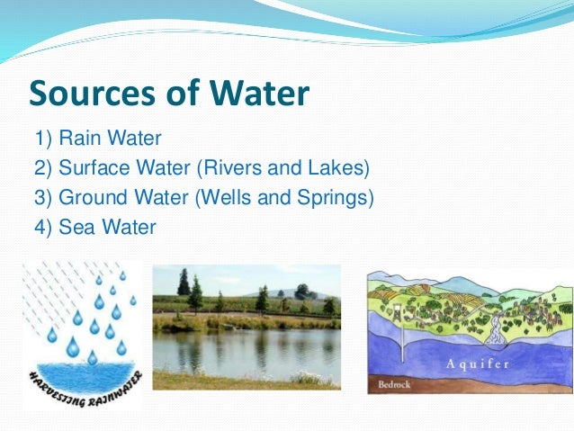 sources of water Water pollution is any change in water quality that has a negative effect on living organisms and those who need to utilize the water supply this pollution can affect any large mass of water - streams, ponds, lakes, oceans, etc freshwater streams have the ability to recover from small amounts of.