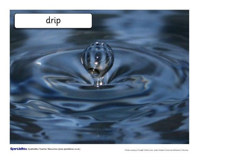 Water: vocabulary