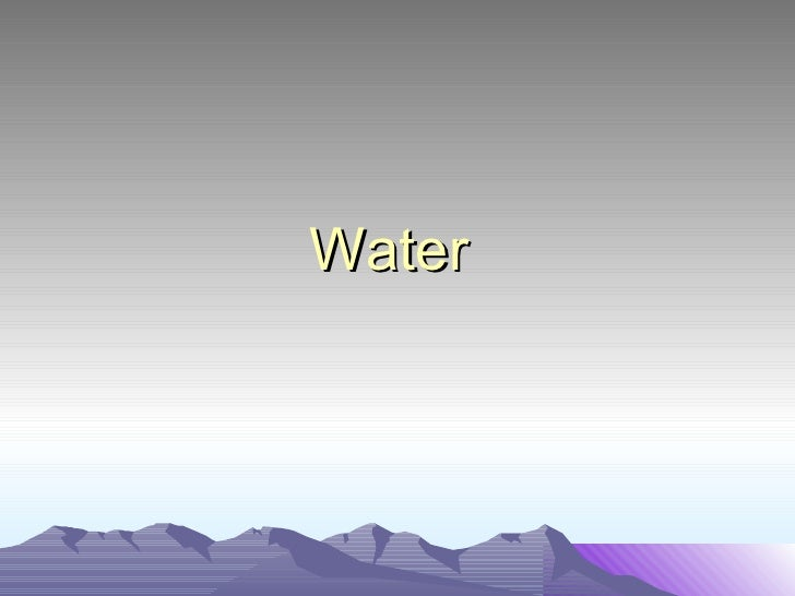 Primary 5 Cycles: Water