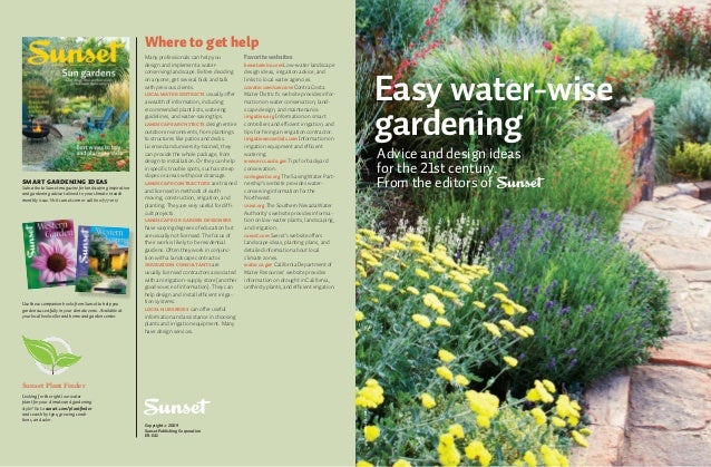 Easy Water-Wise Gardening - San Diego, California