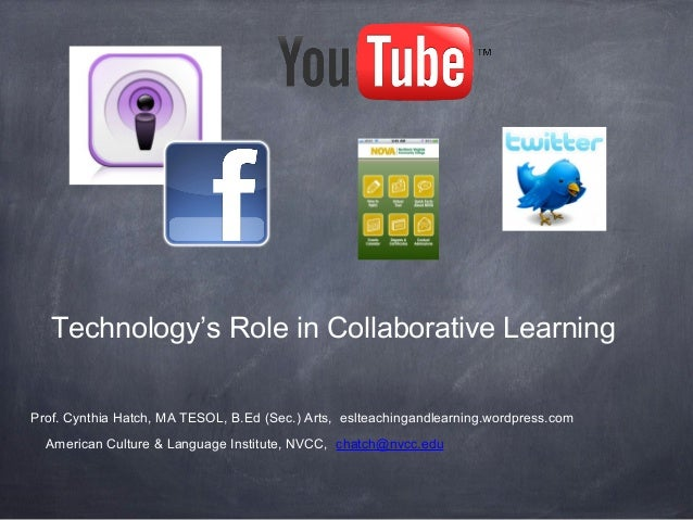 Watesol Spring 2013: Technology's Role in Collaborative Learning