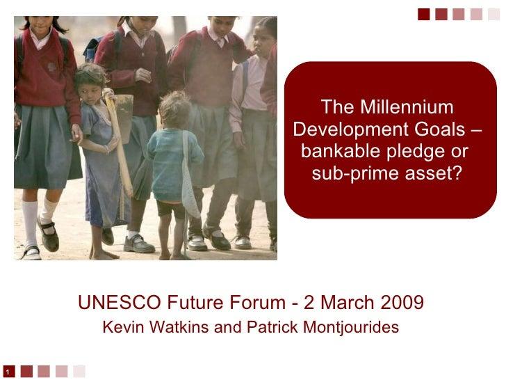 Watkins Unesco Future Forum