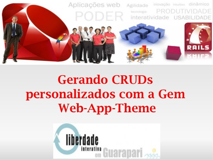 Rails - Wep-App-Theme no Liberdade Interativa Guarapari