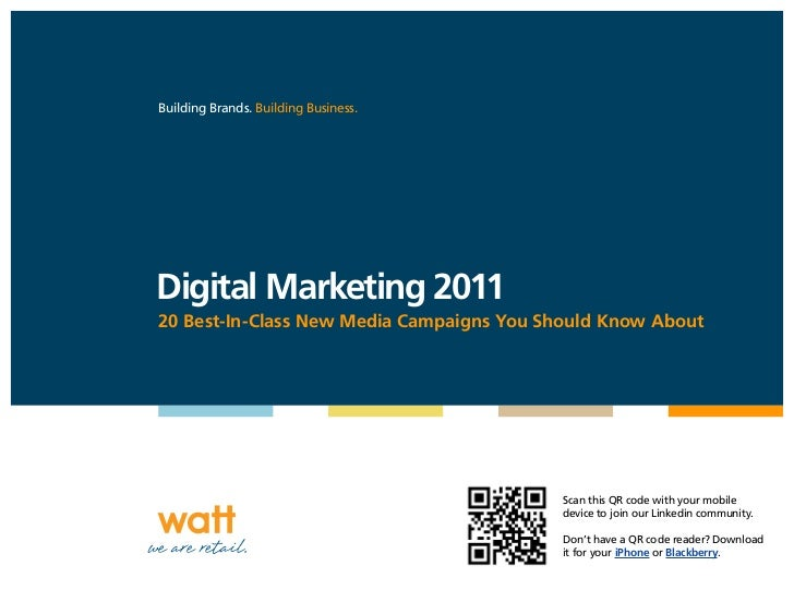 Digital Marketing 2011