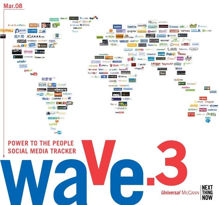 Wave 3 Social Media Tracker