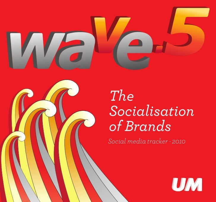 The Socialization of Brands - Wave 5 Report