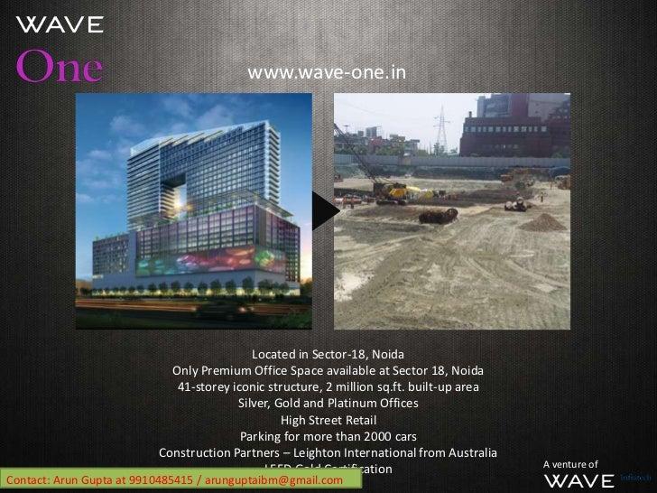Wave One Noida Sector 18 Sector 18 Noida 41-storey