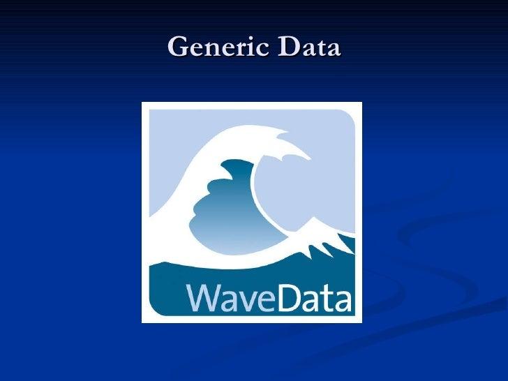 Wave Data Slides For Plg Burns Night Meeting 28th Jan 2010
