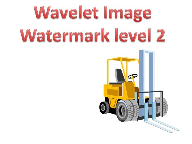 Wavelet watermark level2