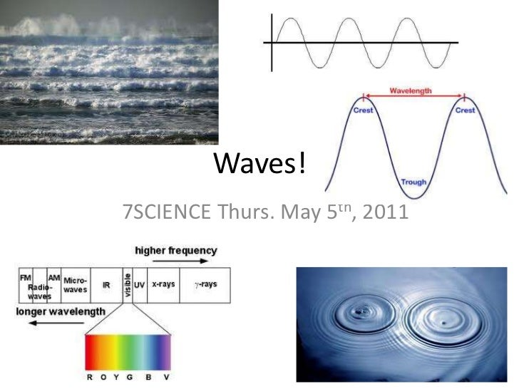 Waves!<br />7SCIENCE Thurs. May 5th, 2011<br />