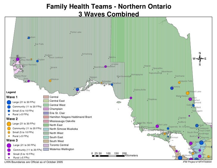 Family Health Teams - Northern Ontario                                                      3 Waves Combined              ...