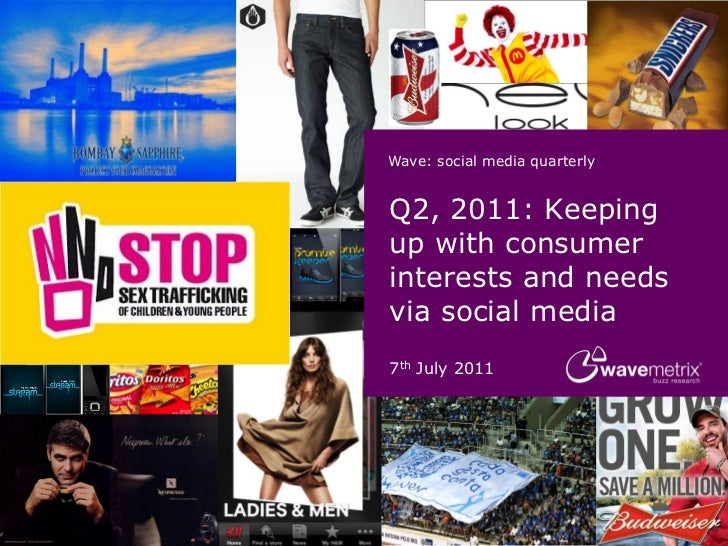 Wave Social Media Quarterly Q2 2011 (Wavemetrix) -OCT11
