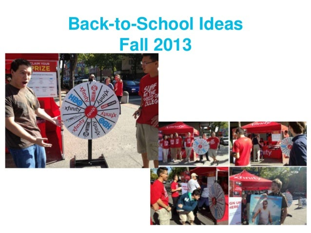 Back-to-School Ideas Fall 2013
