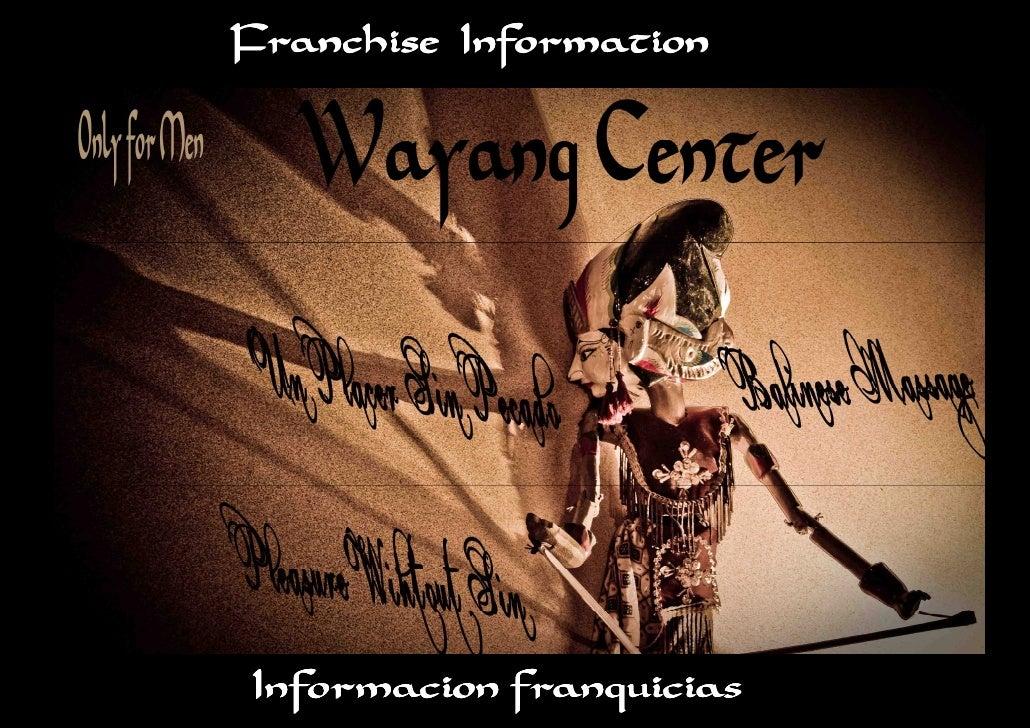 Franchise Information     Informacion franquicias