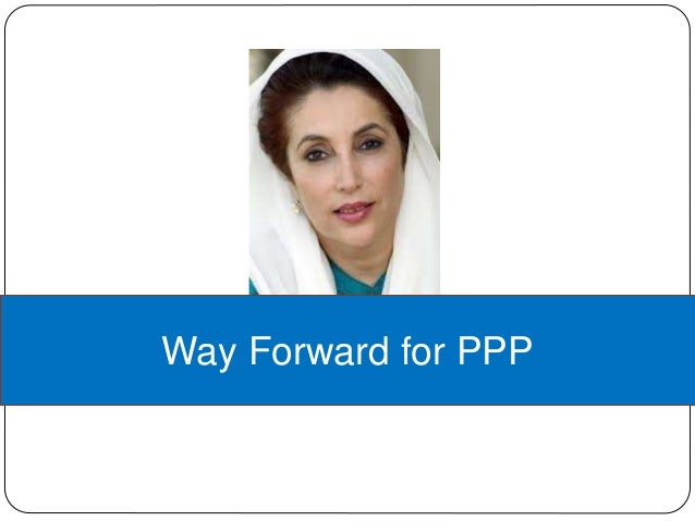 Way Forward for PPP