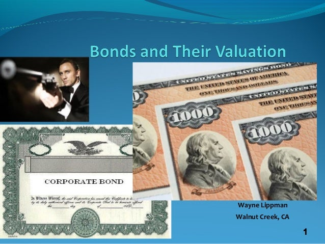 bonds and their valuation Chapter 7 bonds and their valuation key features of bonds bond valuation measuring yield assessing risk 7-1.