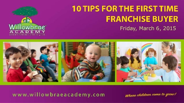 10 Tips For the First Time Franchise Buyer