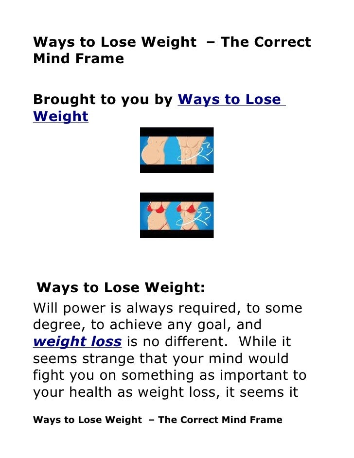 Lose weight food planner picture 5