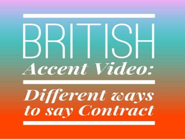 how to learn a british accent fast