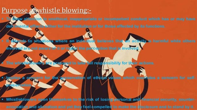 whistle blower in an organization Organizational chart reports whistleblower protection enhancement act of 2012 expands rights and obligations to prevent and report retaliation for whistleblowing.