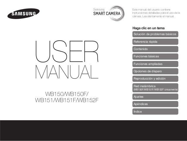 Este manual del usuario contiene instrucciones detalladas para el uso de la cámara. Lea atentamente el manual.  Haga clic ...
