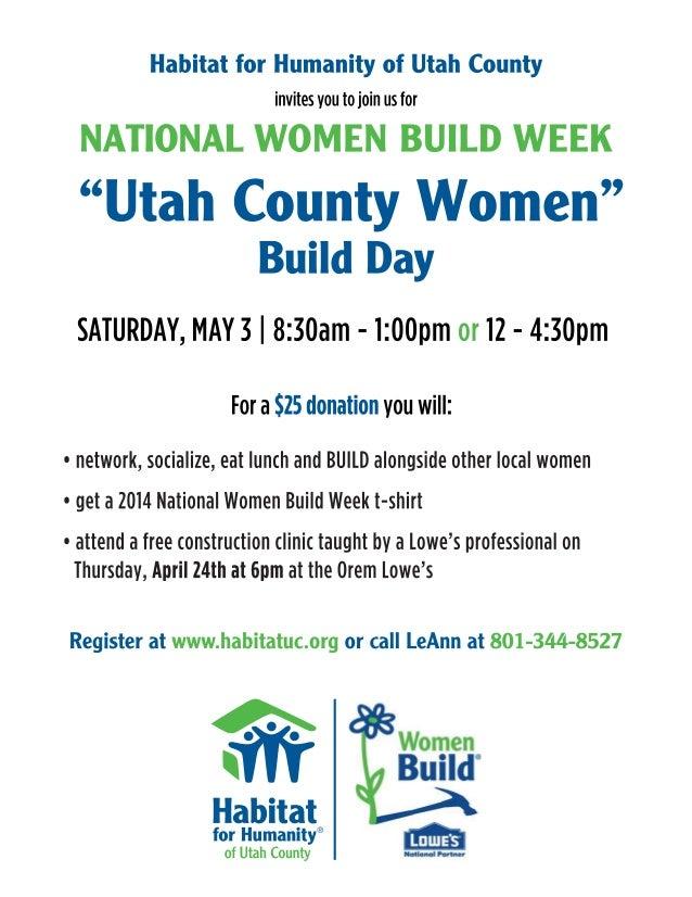 Women Build 2014