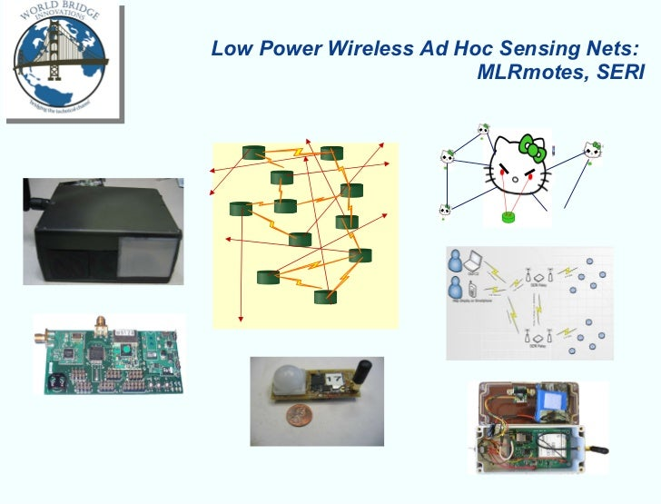 Low Power Wireless Ad Hoc Sensing Nets:  MLRmotes, SERI