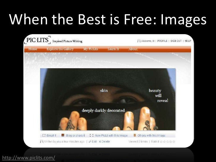 When the Best is Free: Images     http://www.piclits.com/