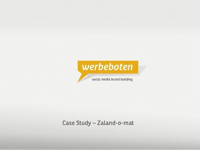 Case Study Zalando / Werbeboten Media