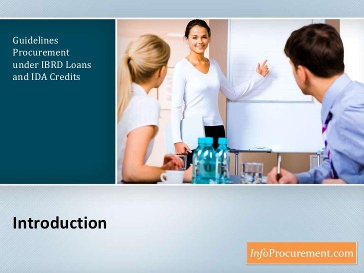 Wb procurement intro 1