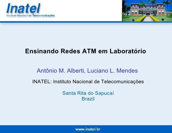 Ensinando Redes ATM em Laboratório