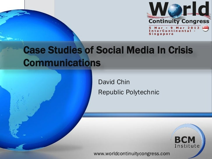 A case study of crisis communication over social media