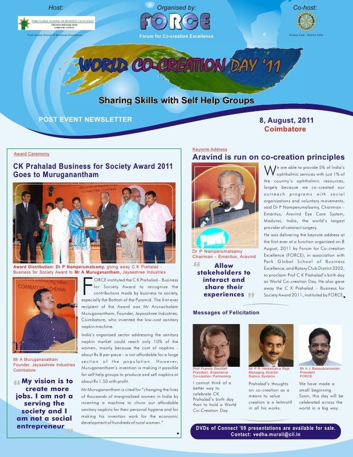 World Co-creation Day