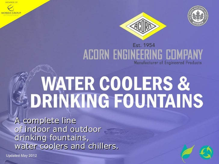 Acorn Water Coolers & Drinking Fountains