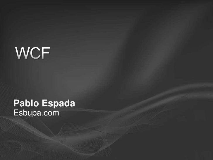 Introducción a WCF